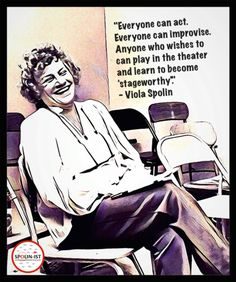 Learn improv from its mother; Viola Spolin! In our weekly classes we explore Viola Spolin's improvisation technique following her book; Improvisation for The Theater. Spolin games are fun, in…