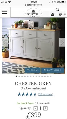 Sideboard, Buffet, Dining Room, Doors, Cabinet, Storage, Interior, Furniture, Home Decor