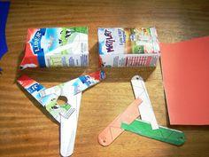 Bumerangue de material Reciclado