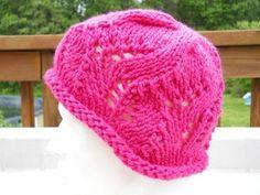 Strawberry Fields #Hat - free #knitting pattern