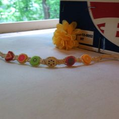 Hemp Shambala Fruit Bracelet
