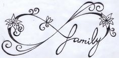 infinity_family_tattoo_by_karicliche-d64qkzn.jpg (400×195) White ink??