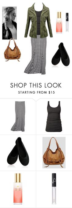 """""""Untitled #70"""" by tiffanyjo ❤ liked on Polyvore featuring Mossimo, James Perse, Donna Karan, Kooba, Victoria's Secret and NARS Cosmetics"""