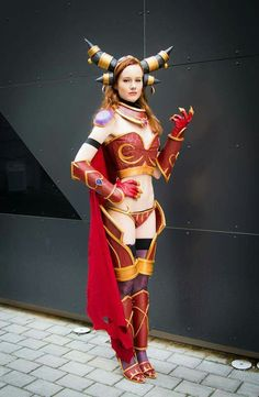 #Alexstrasza at #Torucon 2014 #cosplay #worldofwarcraft #diy