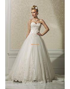 Plesové šaty Srdíčko Elegantní & moderní Svatební šaty 2014