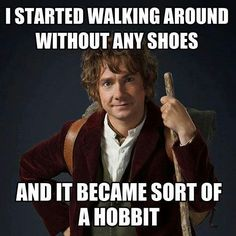 It would be so fun to have Bilbo on a VOBS expedition!