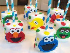 ℳommy & ℳe Ƭreats 🍪🍫🍭✨ ( Sofia The First Birthday Party, 2nd Birthday Party Themes, Monster Birthday Parties, Elmo Party, Mickey Party, Dinosaur Party, Dinosaur Birthday, Birthday Ideas, Sesame Street Birthday Cakes