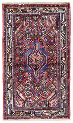 Solo Rugs Hamadan Denny Hand-Knotted Area Rug, x Persian Rug, Kilim Rugs, Rugs On Carpet, Bohemian Rug, Area Rugs, Textiles, Interior Design, American, Antiques