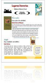 Guía de lectura sobre lugares literarios