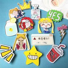 1 PCS Frete Grátis Japonês Dos Desenhos Animados Pinos Broche de Acrílico Kawaii Broochs Pin Broches de Roupas Mochila