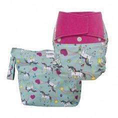 Purrrrfect: the cloth diaper that started as an April Fools joke.  http://www.grovia.com/shop/extras/purrrrfect-gear.html