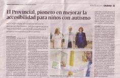 Señaléctica en el Hospital de Pontevedra
