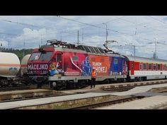 ZSSK 350.017 - 0 IC 522 Macejko Spišská Nová Ves - YouTube Nova, Train, World, Youtube, The World, Zug, Strollers, Trains, Earth