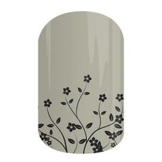 Flourish   Jamberry Give your nails a subtle touch with this simply lovely floral wrap.