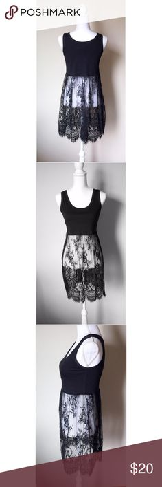 🆕 Black Lace Extender ✨ New! Black lace extender ✨ Tops Tank Tops