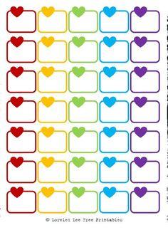 Lorelei Lee's Plan-Bar: Valentine's Day is coming - Herzerlboxen und Labels Free Planner, Planner Pages, Happy Planner, Best Planners, Printable Planner Stickers, Planner Organization, Filofax, How To Plan, Erin Condren