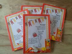 Invites For The Kidsparty