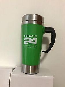 475e3dcdde Herbalife 24 500ml Self Stirring Mug Auto Mixing Health Meal Mug Cups Green