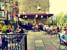 Night of Joy – cool bar with rooftop in Williamsburg New York