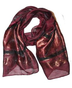 Ladies Scarf Purple