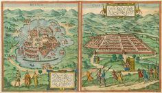 Tenochtitlán - 1627