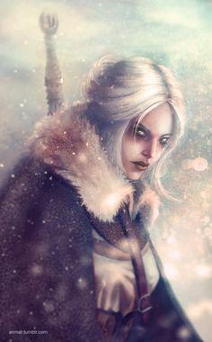 Ciri by Anmat on DeviantArt