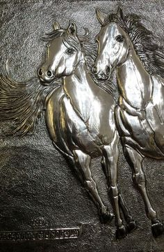 Tin Foil Art, Tin Art, Aluminum Foil Crafts, Metal Crafts, Pewter Art, Pewter Metal, Gravure Metal, 3d Cnc, Metal Embossing