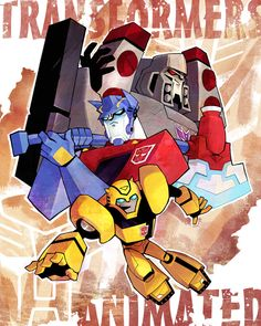 Transformers Animated by ~ai-eye on deviantART