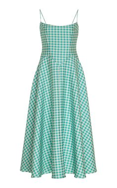 Get inspired and discover Emilia Wickstead trunkshow! Shop the latest Emilia Wickstead collection at Moda Operandi. Tweed Dress, Gingham Dress, Day Dresses, Cute Dresses, Summer Dresses, Crepe Dress, Pretty Outfits, Dress Patterns, African Fashion