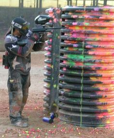 Paintballing- yup already bought the tickets!