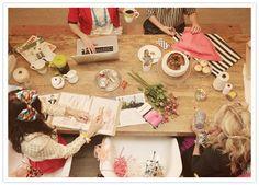 Kate Spade inspired shoot + a Q with talented event designers | Details + Decor, Vendor Spotlight | 100 Layer Cake