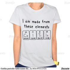 9 best science mugs images on pinterest lyrics texts and name mugs caitlin periodic table name shirt urtaz Choice Image