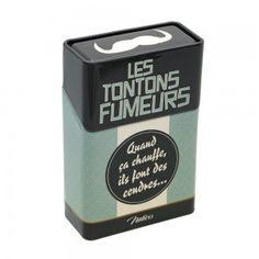 Etui à paquet de cigarettes « Les tontons fumeurs » - Natives - Déco rétro & vintage #decoretro #vintage