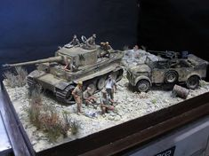 Tiger I 1/35 Scale Model Diorama