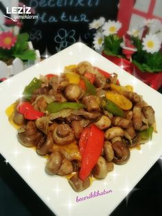 Caramelized Mushrooms with Olive Oil – Chicken Recipes Italian Chicken Dishes, Iftar, Homemade Beauty Products, Kung Pao Chicken, Quick Meals, Food Art, Chicken Recipes, Stuffed Mushrooms, Beef