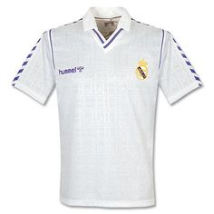 d8d7c6029a4 Hummel 88-90 Real Madrid Home Shirt - Used - L 88-90 Real