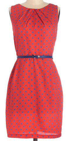 #red and #blue polka dot dress  http://rstyle.me/n/immrepdpe