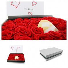 Einzigartiges Valentinsgeschenk in wunderschöner Geschenkbox von ideas in boxes #Geschenkidee #valentinstag #valentinesday