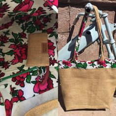 traditional flannel fabric makes this bag bright, cheery and soft! 50 TL, 20 euros