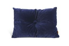 NO. 9 | Bent Hansen. pyntepude-pude-cushion-pillow-boligindretning-homedecor-velour-benthansendesign-darkblue-ink-blue