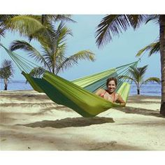 Amazonas Silk Traveller Forest Green Double Hammock