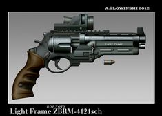 Light Frame ZBRM-4121 Revolver by BlackDonner on deviantART