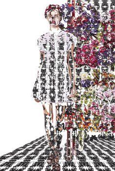 """Saatchi Online Artist: Riccardo Schiavon; Digital, 2012, Photography """"F PORTRAIT 14"""""""