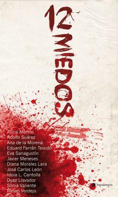 #12Miedos, portada alternativa de Ricardo Llavador