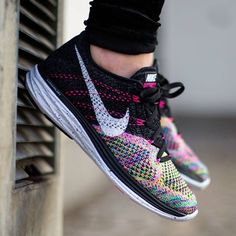 """""""Multi-color Flyknits deserve a spot on any rotation.  See what other Nike Lunar Flyknit 3 releases are coming in Sneaker Release Dates on sneakernews.com"""""""