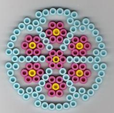 Kreis Bügelperlen/  Circle perler beads