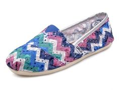 2012 Womens Toms shoes purple red blue wholesale