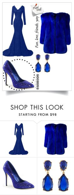 """Bez naslova #37"" by anelaa1923 ❤ liked on Polyvore featuring Yves Saint Laurent and Kenneth Jay Lane"
