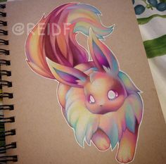 Beautiful & Cutest Pokemon Drawings by: Reid