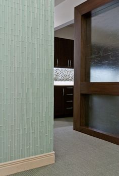 Artistic Tile |  JCC on Palisades locker room | Moonstruck Opera Glass in Stilo pattern